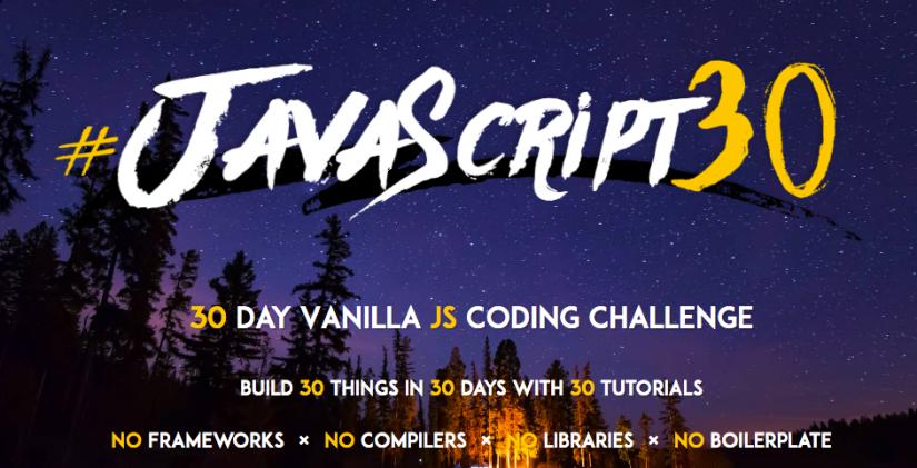 30-Day Vanilla JavaScriptChallenge
